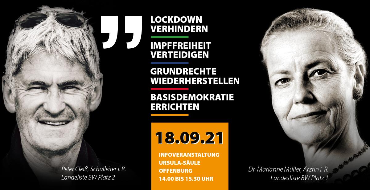 Wahlveranstaltung Offenburg